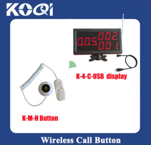 CE Approved Hospital Wireless Service Calling System with USB Display and Button pictures & photos