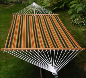 Cotton Hammock with Wooden Rod pictures & photos