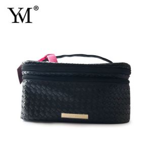 OEM Beauty Fashion PVC Leather Cosmetic Toiletry Make up Bag pictures & photos