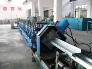 Zuc Hat Profile Purlins Forming Machine Manufacturer in Saudi Arabia pictures & photos