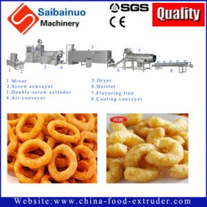 Puff Corn Snack Food Extruder Production Line Machine pictures & photos