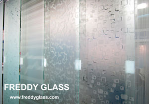 8mm-12mm Tempered Shower Door Glass/Obscured Glass/Acid Glass/Frost Glass pictures & photos