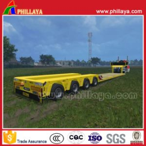 4 Axles Hydraulic Gooseneck Detachable Low Boy for Trailer pictures & photos