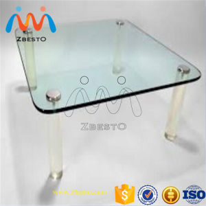 Custom Made Safety Tempered Furniture Glass Tops pictures & photos