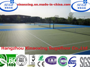 10 Years Life PP Interlocking Tennis Modular Sports Flooring pictures & photos