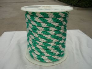 Polyester Solid Braid Rope 12 18 Strands Colored pictures & photos