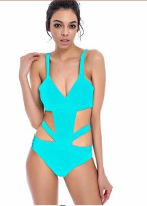 2017 One Piece High Fashion Woman Swimsuit Swimwear pictures & photos