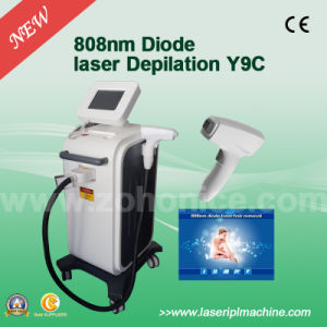 Y9c Permenant 808nm Diode Laser Permanent Hair Removal Machine with Big Spot Size pictures & photos