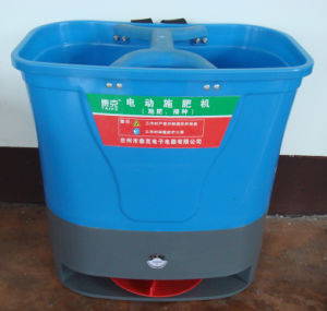 Knapsack Electric Fertilizer Distributor / Feeding Machine pictures & photos