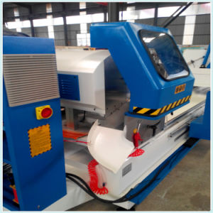 Aluminum Window Profile Double Head CNC Precision Cutting Machine