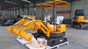 Rhinoceros Xn08 800kgs Mini Crawler Excavator Ce Approved pictures & photos