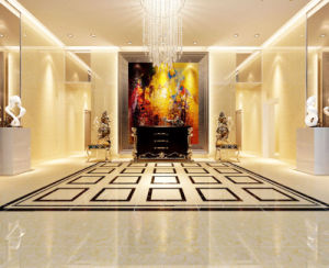Pink Golden Silk Stone: Polished Porcelain Tile pictures & photos