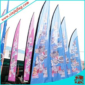 Custom Vertical Flag/Custom Paddle Flag/Feather Flag pictures & photos