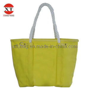 Plain Yellow Lady Eco-Friendly Bag  (FLY20010) pictures & photos