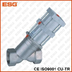 Esg 102 Stainless Steel Angle Seat Valve pictures & photos