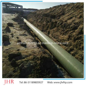 Olimy Fiberglass Sewage Pipe FRP GRP Sewage Pipe for Ssale pictures & photos