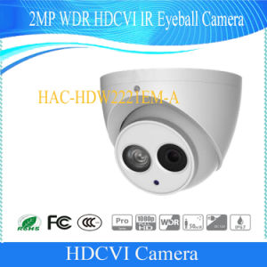 Dahua 2MP WDR Hdcvi IR Eyeball CCTV Camera (HAC-HDW2221EM-A) pictures & photos