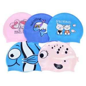 Custom Swimming Cap for Swimming School pictures & photos