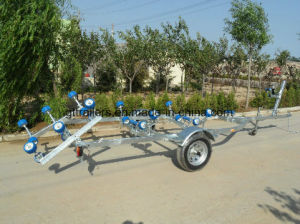 Hot DIP Galvanzied Roller Boat Trailer pictures & photos