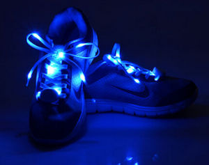 Festival Giveaways Antique Cheaper Shipping Fashion Gift LED Shoelace