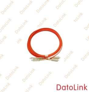 Optical Fiber Patch Cord with Sc Connector Mm Duplex pictures & photos