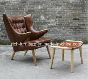 Leather Papa Bear High Wing Back Chair for Living Room (RF-5007) pictures & photos
