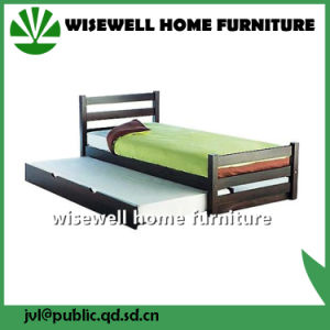 Pine Wood Single Bed Frame Furniture for Adult (WJZ-B19) pictures & photos