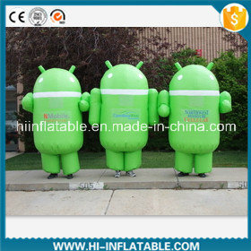 Custom Made Inflatable Replica Android Costume, Inflatable Android Repicas Moving Cartoon for Advertising on Sale