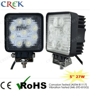Square 27W LED Work Light with CE RoHS (CK-WE0903S)