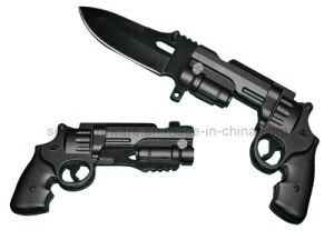 420 Stainless Steel Gun Knife (SE-333) pictures & photos