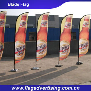 High Quality Digital Printing Feather Blade Flag for Display pictures & photos