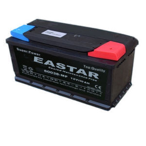 DIN Maintenance Free Car Battery 12V 100ah pictures & photos