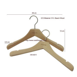 Natural Wooden Clothes Hanger pictures & photos