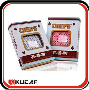 High Quality PVC Plastic Poker Cards pictures & photos