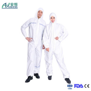 Good Quality Microporous Disposable Water-Proof Medical Coverall/Overall pictures & photos