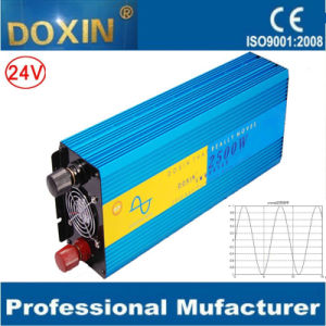 Doxin 24V 2500W DC to AC Pure Sine Wave Inverter pictures & photos