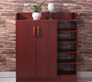 Solid Wooden Shoe Rack Wooden Cabinet (M-X2099) pictures & photos
