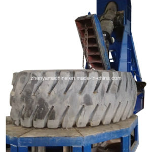 OTR Tire Cutter to Russia - China Giant Whole Tire Processing Machine