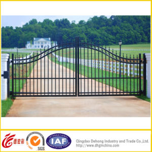 Ornamental Iron Gate /Metal Gate/Steel Door/Garden Gate Designs pictures & photos