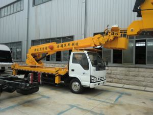 Truck Mounted Folding Arm Lift pictures & photos