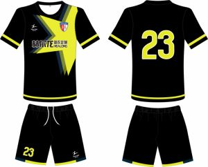 Healong Wholesale Sublimation Cheap Team Man Soccer Jersey pictures & photos