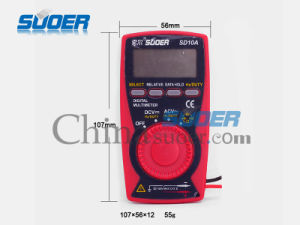 Hot Sale Digital Multimeter High Quality Digital Multimeter (SD_10A) pictures & photos