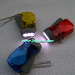 LED Dynamo Torch pictures & photos