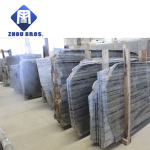 18mm Thickness Black & White Jade/Marble Slab