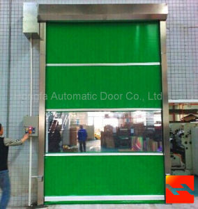 Electrical Industrial Fast Roller PVC Door (HF-1088) pictures & photos