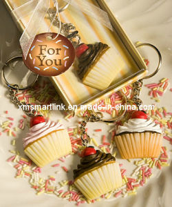 Miniature Cup Cake Key Ring Premium Gifts pictures & photos