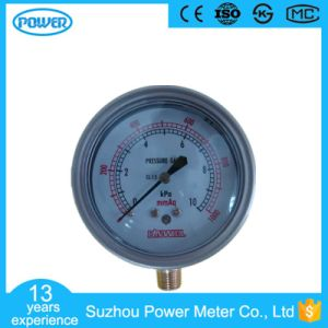 60mm 2.5′′ Stainless Steel Case Bottom Type Bellows Manometer pictures & photos