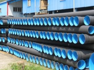 Winding Pipe HDPE Double-Wall Pipe for Drainage pictures & photos