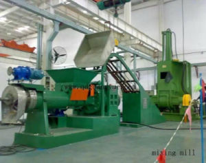 Cold Feed Rubber Extrution Sheeting and Kneader pictures & photos