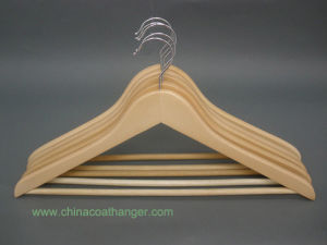 Eco Friendly Instock Wooden Hanger for Store pictures & photos